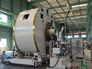 材料反転装置(2)