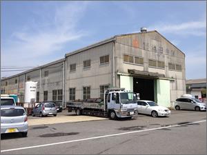 ガス溶断工場